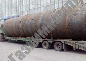 Произведена отгрузка металлоконструкций резервуара РВС-1000 м.куб. для масла