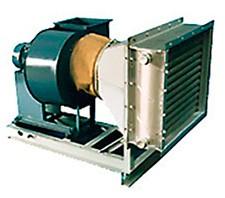Воздухонагревательная установка ВТУ